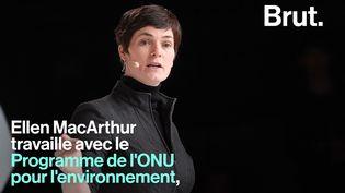 VIDEO. Ellen MacArthur, une vie dévouée à l'océan (BRUT)