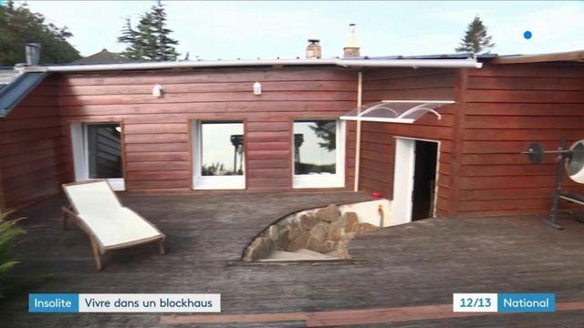 Manche : une famille habite dans un ancien blockhaus