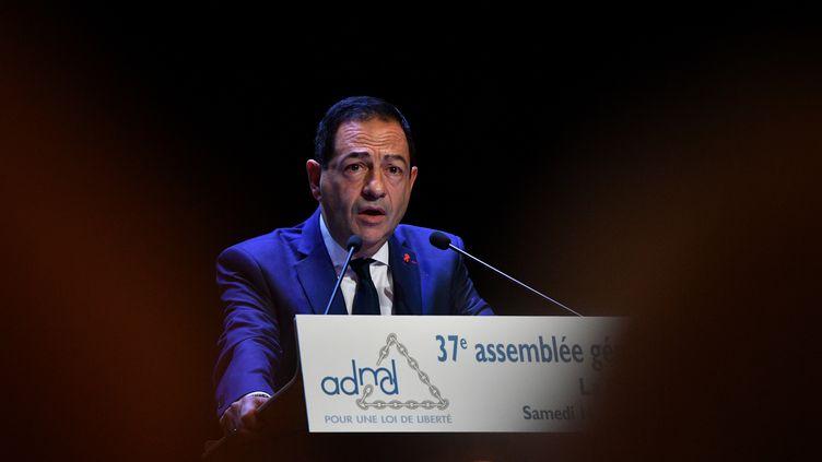 Jean-Luc Romero, le 14 octobre 2017 (XAVIER LEOTY / AFP)