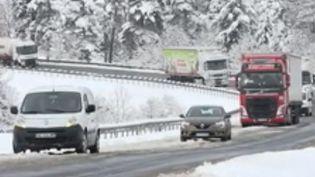 neige haute loire (FRANCE 2)