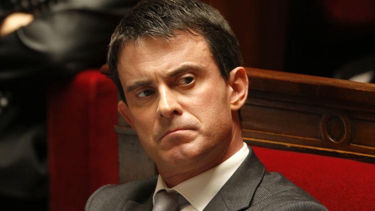 Manuel Valls, le 12 novembre 2013 à Paris. (CHARLES PLATIAU / REUTERS)