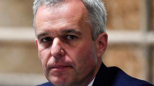 François de Rugy, le ministre de la Transition écologique et solidaire, à Niort (Deux-Sèvres), le 11 juillet 2019. (GEORGES GOBET / AFP)