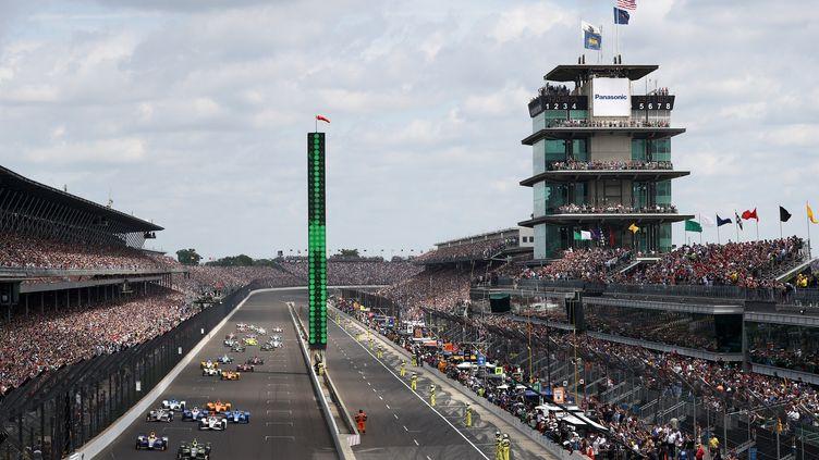 Le départ des 500 miles d'Indianapolis (CHRIS GRAYTHEN / GETTY IMAGES NORTH AMERICA)