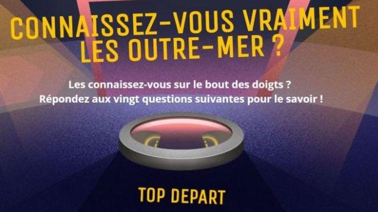 """A l'occasion de """"Cœur outre-mer"""" sur France Télévisions, on vous propose de faire un petit quiz pour tester vos connaissances. (FRANCETELEVISIONS)"""