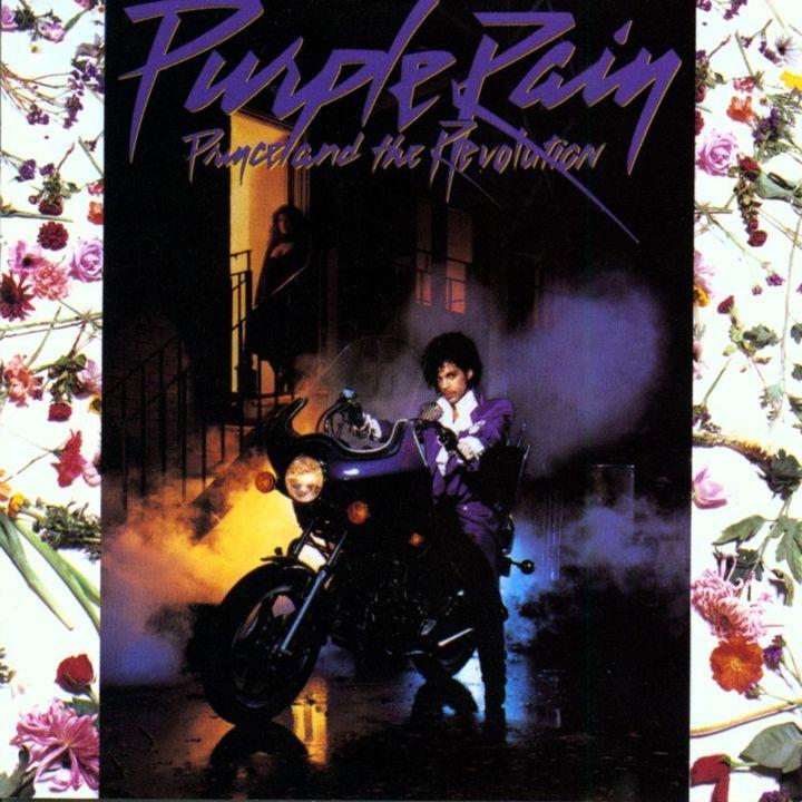"""La pochette originale de l'album """"Purple Rain"""", de Prince and The Revolution. (DR)"""