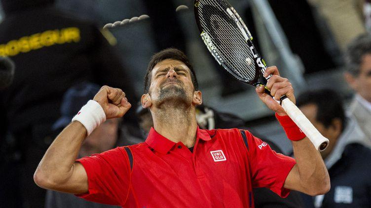 Le numéro un mondial, Novak Djokovic, a remporté son 29e titre en Master 1000 à Madrid. (RODRIGO GARCIA / NURPHOTO)