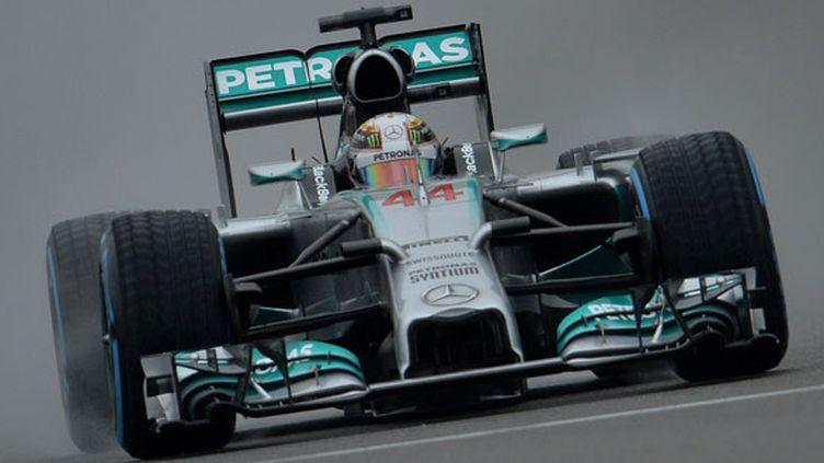 Le pilote britannique Lewis Hamilton