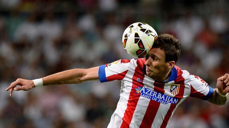 Le Croate Mario Mandzukic (Atletico Madrid) (DANI POZO / AFP)