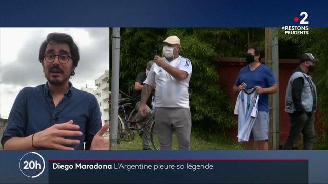 Mort de Maradona : l'Argentine pleure sa légende