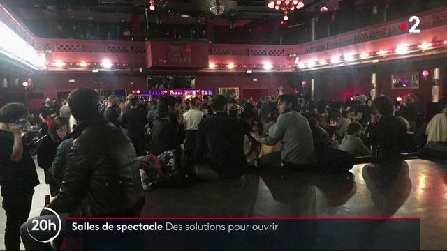 Fermeture des salles de spectacle : à la recherche de solutions pour reprendre les concerts et spectacles