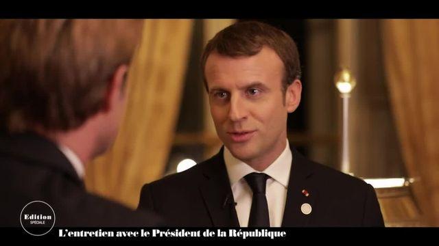 """Macron : """"Je dors peu, mais j'ai toujours peu dormi"""""""