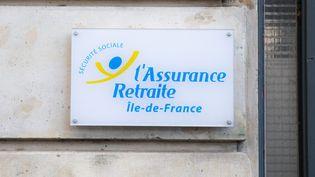 Le logo de l'assurance retraite. (CHRISTOPHE MORIN / MAXPPP)