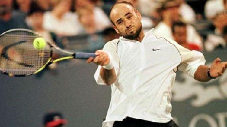 Andre Agassi, vainqueur à Flushing Meadows en 1994 et 1999