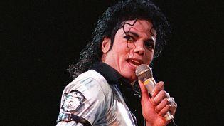 Michael Jackson, octobre 1988  (LUKE FRAZZA / AFP FILES / AFP)