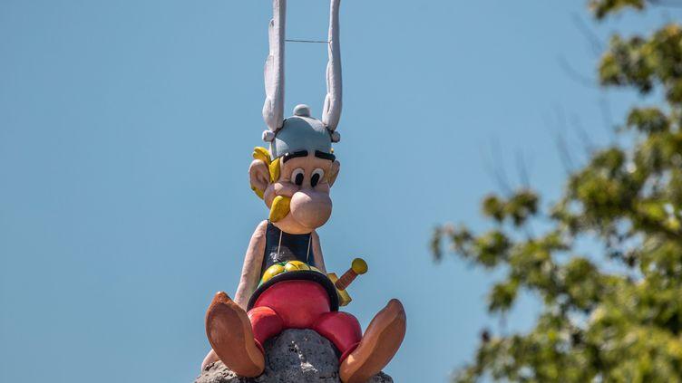 Les parcsd'attractions resteront fermés pendant les vacances de Noël à cause du Covid-19.Le parc Astérix, dans l'Oise, ne rouvrira pas avant début avril 2021. (FRED DUGIT / MAXPPP)