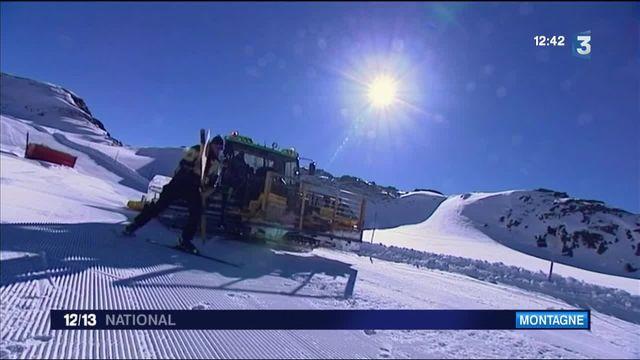 Isère : le glacier des Deux Alpes ouvre ses pistes de ski ce week-end