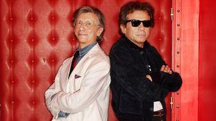 Jean-Pierre Dionnet et Philippe Manoeuvre.  (Vincent Lignier)