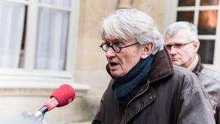 Jean-Claude Mailly, le secrétaire général de Force ouvrière, le 7 mars 2016 à Paris. (YANN KORBI / CITIZENSIDE.COM / AFP)