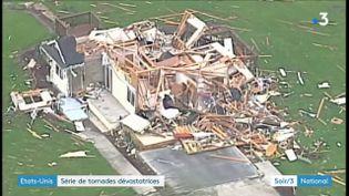 Les dégâts d'une tornade aux Etas-Unis (France 3)