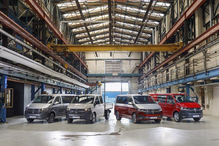 La gamme utilitaire de Volkswagen transformée avec ce T6.1 (VW POUR FRANCE INFO)