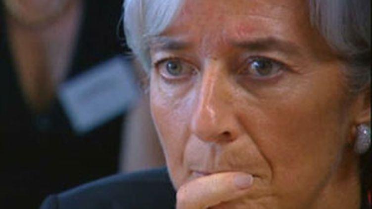 Christine Lagarde, ministre de l'Economie. (© France 3)