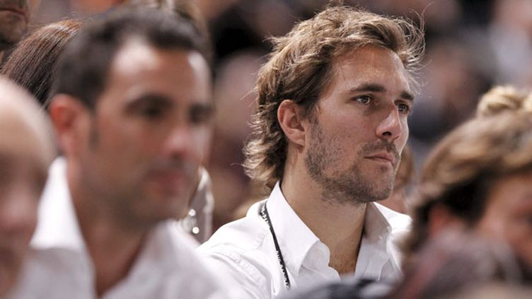 (Arnaud di Pasquale, le DTN de l'équipe de France de tennis © Maxppp)
