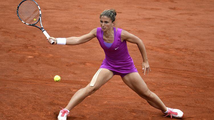 Sara Errani en finale de Roland-Garros en 2012 (PASCAL GUYOT / AFP)