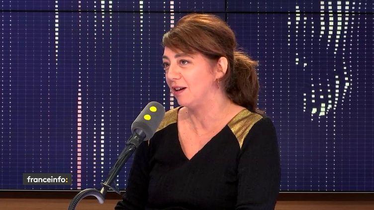 Eliane Montane, scénariste, le 6 décembre 2012. (FRANCEINFO / RADIO FRANCE)
