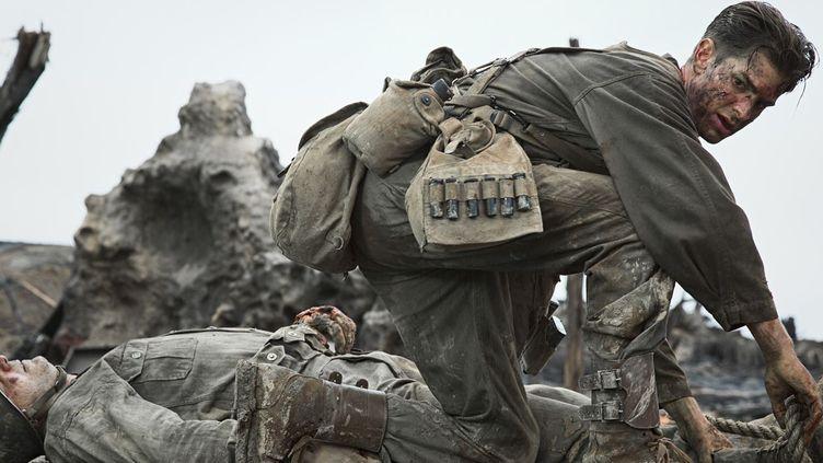 "Andrew Garfield dans ""Tu ne tueras point"" de Mel Gibson  (Mark Rogers)"