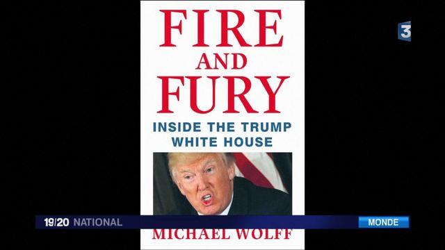 """""""Le feu et la fureur"""" : le livre qui fait vaciller le président Trump"""