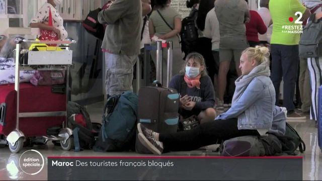 Coronavirus : 70 000 touristes français bloqués à l'étranger