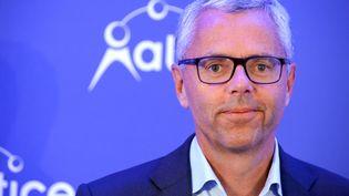 Michel Combes, PDG de SFR-Numéricable (ERIC PIERMONT / AFP)