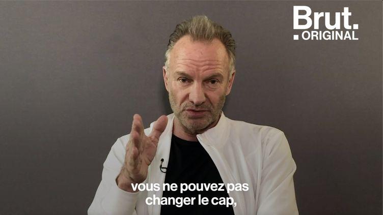 Le chanteur britannique Sting défendait la forêt amazonienne il y a plus de 30 ans. Voici ce qu'il pense de la crise environnementale actuelle. (BRUT)
