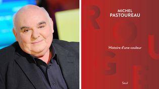 Michel Pastoureau raconte l'histoire de la couleur rouge (ici à La Grande librairie sur France 5, le 25 novembre 2010)  (Baltel / SIPA)