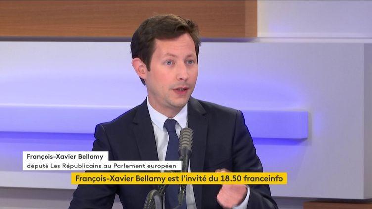 François-Xavier Bellamy, député européen Les Républicains (LR) ((FRANCEINFO / RADIO FRANCE))