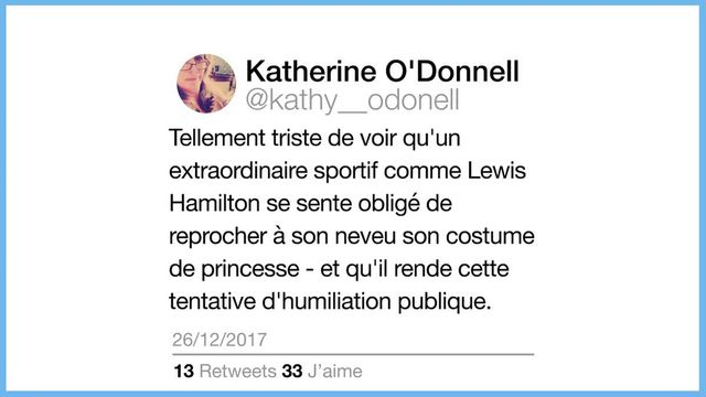 Lewis Hamilton robe