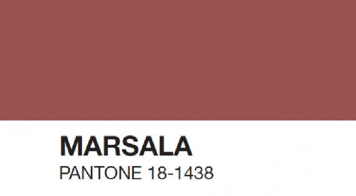 Marsala, Pantone 18-1438  (Pantone)