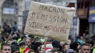 Manif gilets jaunes à Lille (FRANCOIS LO PRESTI / AFP)