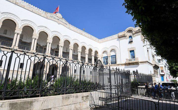Le tribunal de Tunis où s'est déroulée la première audience du procès de l'attaque de Sousse, le 26 mai 2017. (AFP - Fethi Belaïd)