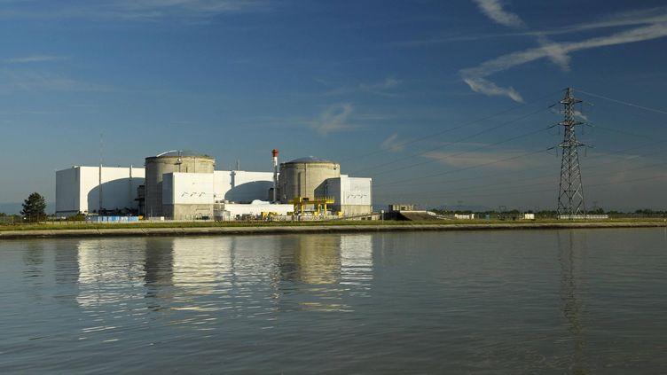La centrale nucléaire de Fessenheim (Haut-Rhin). (JEAN ISENMANN / ONLY FRANCE / AFP)