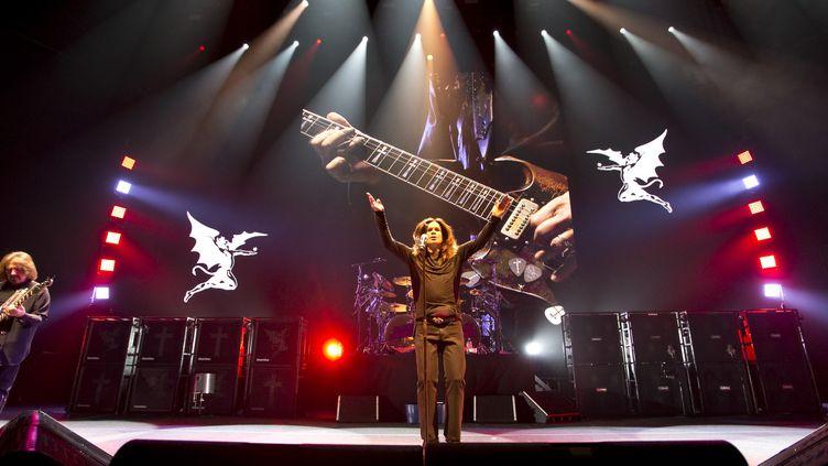 Les Black Sabbath en concert à Edmonton au Canada en avril 2014.  (Ian Kucerak / Edmonton Sun/QMI Agency / QMI Agency)