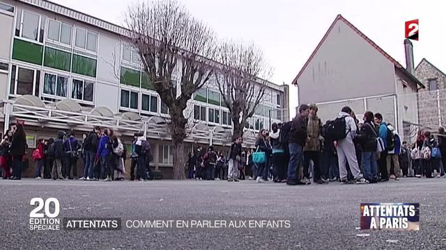 Attentats de Paris : comment en parler aux enfants ?