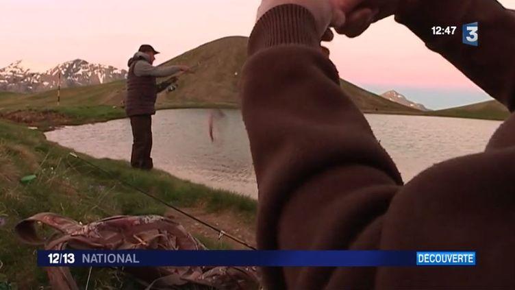 Hautes-Alpes : à la découverte de la pêche dans le lac des Sirènes (FRANCE 3)