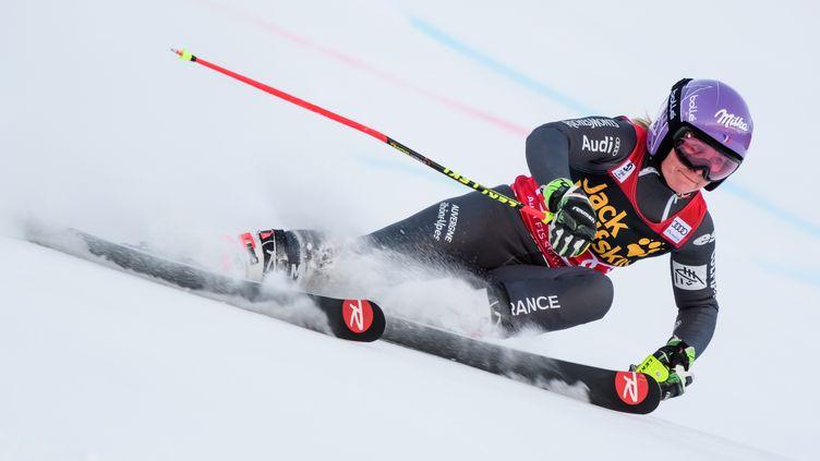 La skieuse française Tessa Worley (JURE MAKOVEC / AFP)
