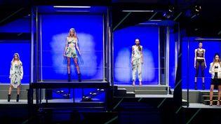 Présentation de la collection de mode de Rihanna pour River Island à Londres (16 février 2013)  (James McCauley / Rex Features / Sipa)