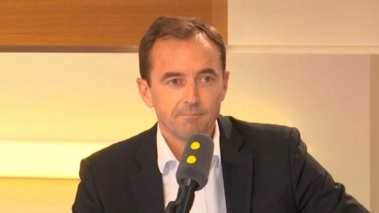 Christophe Catoir,le président France du groupe Adecco, mercredi 25 avril sur franceinfo. (RADIO FRANCE)
