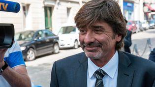 L'ancien numéro deux de la PJ de Lyon Michel Neyret, à Paris, le 4 septembre 2012. (LAURENT ETIENNE / SIPA)