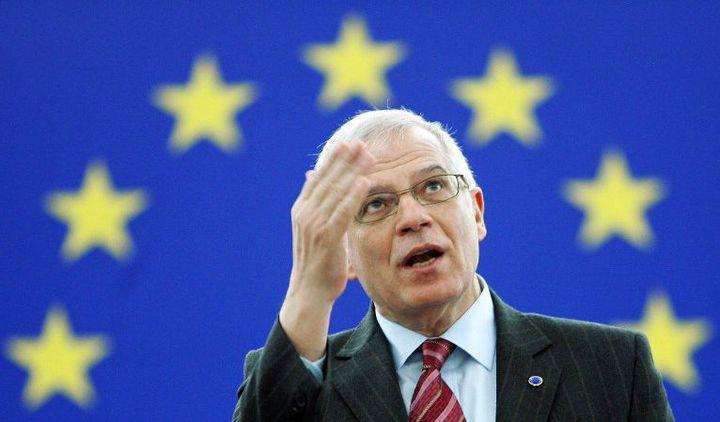 Josep Borell (à Strasbourg le 15 janvier 2007) (FREDERICK FLORIN / AFP)