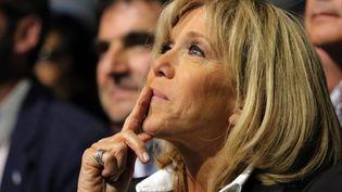 Brigitte Macron, le 19 avril à Nantes. (MAXPPP)