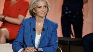 La présidente de la région Ile-de-France, Valérie Pécresse, à Paris, le 14 juin 2021. (LUDOVIC MARIN / AFP)